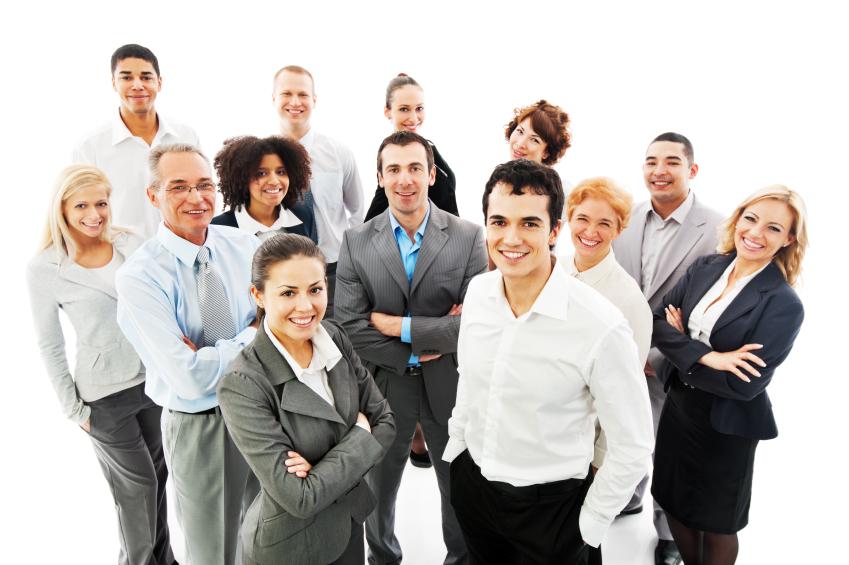 Successful Business People.